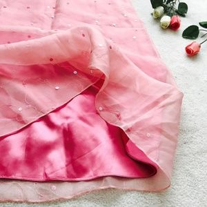Ann Taylor Silk Maxi Skirt